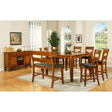 Mango 8 Piece Counter Height Dining Set