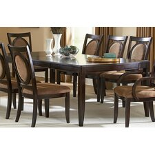 <strong>Steve Silver Furniture</strong> Montblanc 9 Piece Dining Set