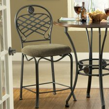 "Wimberly 24"" Bar Stool with Cushion"