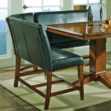 Plato Counter Height Corner Chair in Multi-Step Dark Oak