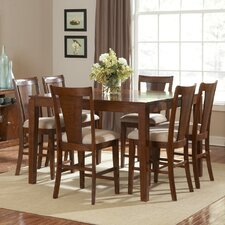 <strong>Steve Silver Furniture</strong> Easton 7 Piece Counter Height Dining  Set