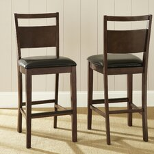 Fairway Bicast Leather Bar Stool
