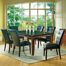 <strong>Steve Silver Furniture</strong> Granite Bello 7 Piece Dining Set