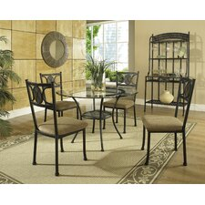 <strong>Steve Silver Furniture</strong> Carolyn 5 Piece Dining Set