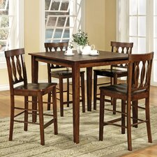 <strong>Steve Silver Furniture</strong> Richmond 5 Piece Counter Height Dining Set