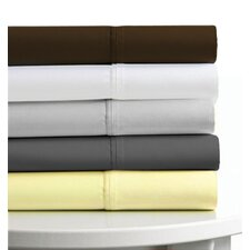 600 Thread Count 4-Piece Egyptian Cotton Sateen Deep Pocket Sheet Set