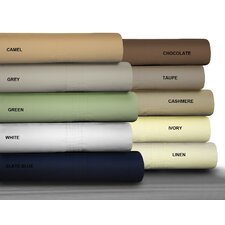<strong>Tribeca Living</strong> Percale Egyptian Cotton Pillowcase Set