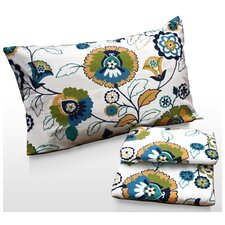Modern Floral Printed Sheet Set