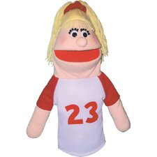<strong>Get Ready Kids</strong> Sports Girl Puppet