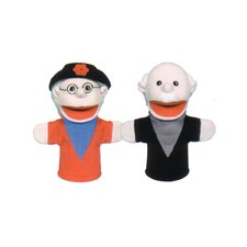 Grandparent Puppet Set