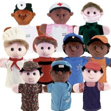 Community Helper Puppet Set
