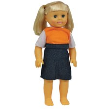 <strong>Get Ready Kids</strong> Caucasian Girl Doll