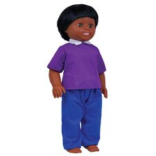 <strong>Get Ready Kids</strong> African American Boy Doll