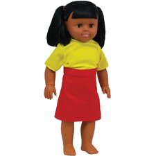 <strong>Get Ready Kids</strong> Hispanic Girl Doll