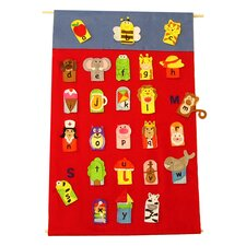Alphabet Finger Puppet and Wall Chart