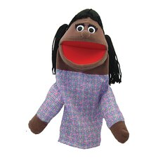 Half Body Family Puppets Girl