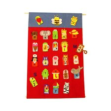 <strong>Get Ready Kids</strong> Alphabet Finger Puppets & Wall