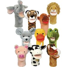 <strong>Get Ready Kids</strong> Bigmouth Puppets (Set of 10)