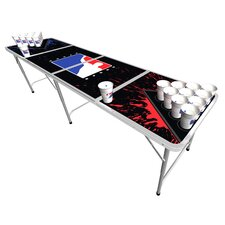 <strong>BPONG</strong> Beer Pong Table in Splatter Edition