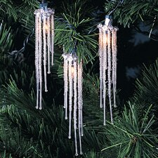 10 Light Beaded Icicle Light Set
