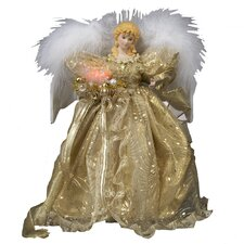 Fiber Optic LED Angel Tree Topper