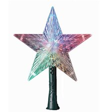 LED Color-Changing Light Star Tree Topper