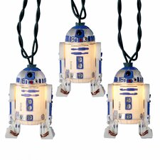 "Star Wars 10 Light ""R2D2"" Light Set"