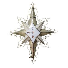 10 Light Ornate Bethlehem Star Light