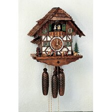 "15.5""  8-Day Movement Cuckoo Clock with Beer Drinkers"