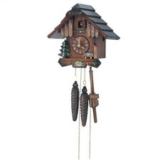 Flower Cuckoo Wall Clock