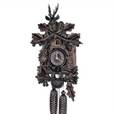 "19"" Traditional 8-Day Movement Cuckoo Clock with a Deer"