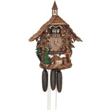 "19.5"" Chalet 8-Day Movement Cuckoo Clock with a Fine Worked Hunter"