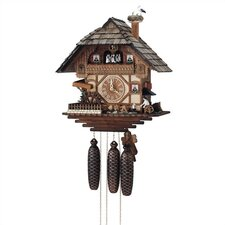 "17"" 8-Day Movement Cuckoo Clock with Blacksmith"