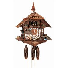 Forest Chalet  Wall Clock