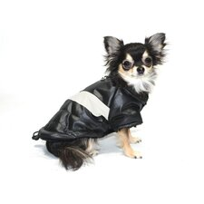 <strong>Hip Doggie</strong> Classic V Dog Coat in Black