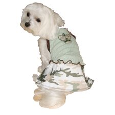 Crown Camo Mini Dog Dress