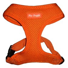Ultra Comfort Mesh Dog Harness Vest in Orange