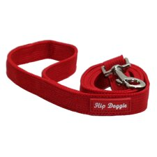 Mesh Matching Dog Leash in Red