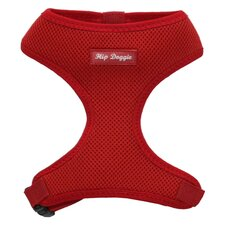 Ultra Comfort Mesh Dog Harness Vest in Red