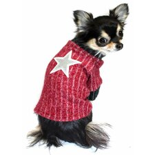 Scarlet Star Dog Turtleneck