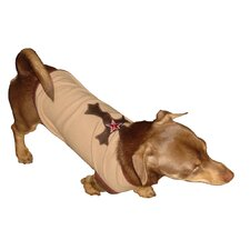 Big Dog Extra Small Cross Dog Tank in Tan