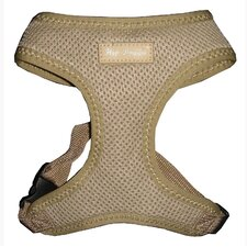 Ultra Comfort Mesh Dog Harness Vest in Tan