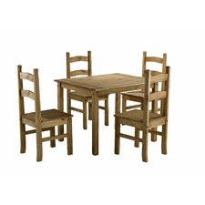 Corona Budget 5 Piece Dining Set
