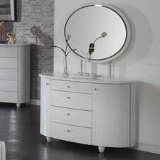 Aztec Dressing Table with Mirror