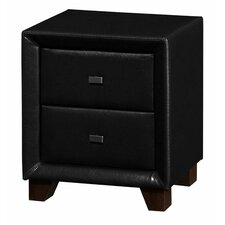 Brooklyn 2 Drawer Bedside Table