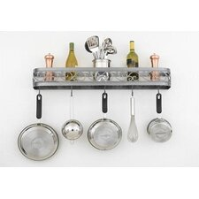 "<strong>Hi-Lite</strong> Odysee 34"" Wall Mounted Pot Rack"
