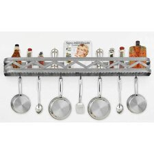 <strong>Hi-Lite</strong> Sonoma Wall Mounted Pot Rack