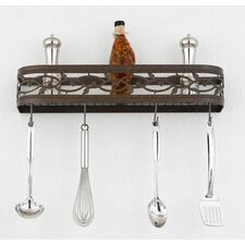 <strong>Hi-Lite</strong> Napa Wall Mounted Pot Rack
