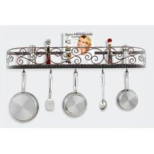 <strong>Hi-Lite</strong> Authentic Iron Wall Mounted Pot Rack