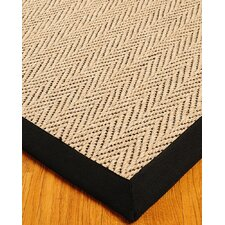 Jute Cream / Black Emerson Rug
